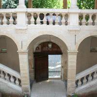 Cour intérieur et son escalier à double volées