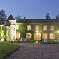 Château Lardier la nuit