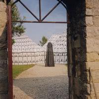 Les tentes berbères dans les jardins