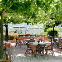 Terrasse panoramique du restaurant