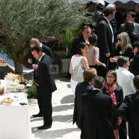 Cocktail chez marius en terrasse