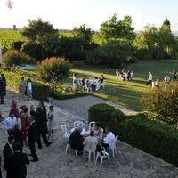 Réception sur la terrasse