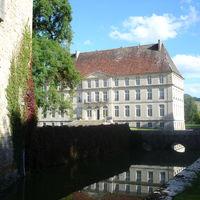 Facade avant du château