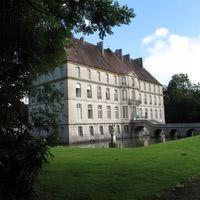 Facade sud du château
