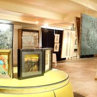 Salon azur - salle d'exposition