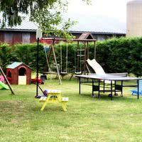 Le parc de jeux enfants inclus avec la location