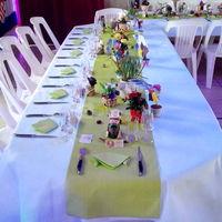 Table d'honneur pour un anniversaire