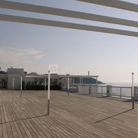 Espace de l'océan anglet - toit terrasse