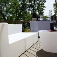 La terrasse pour un cocktail