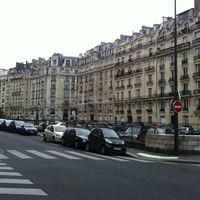 Vue sur rue locaux paris 16ème