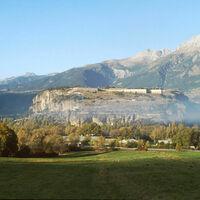 Vue générale de la forteresse