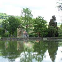 L'étang  et le colombier du  18e siecle