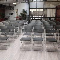 Salle verrière en mode conférence