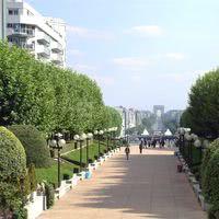 Salle miro - vue panoramique sur l'arc de triomphe