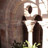 Cloître xiième siècle - abbaye notre-dame