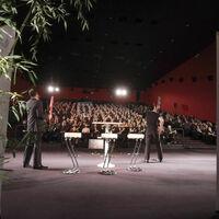 Séminaire en salle de cinéma