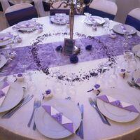 Table mauve