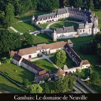 Domaine de Neuville - vue aérienne