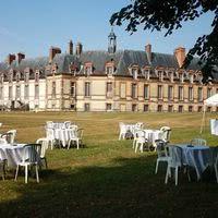 Château - parterre de réception
