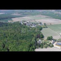 Photo aérienne du domaine du plessis de jalesnes