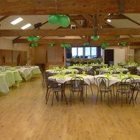 La grange déco verte (vue de la piste de danse 2)