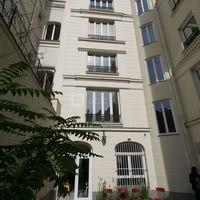 La façade bâtiment principal