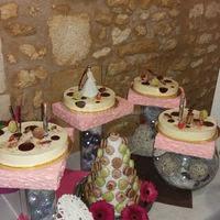 Présentation de desserts
