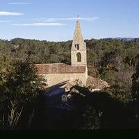 L'abbaye nichée dans son vallon