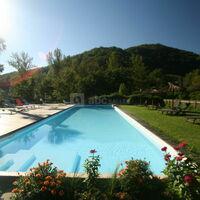 Notre piscine de 20 m de long