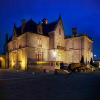 Splendeur du château la nuit