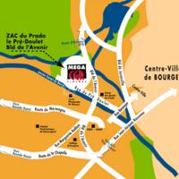 Plan d'accès cgr bourges