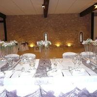 Vue de la table des mariés