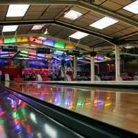 Pistes de bowling à l'étage
