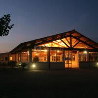 Salle réception la nuit