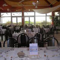 Salle des banquets vue mer