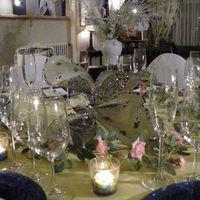 Détails de décoration réception de mariage