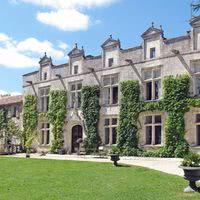 Façade d'été chateau de Maumont