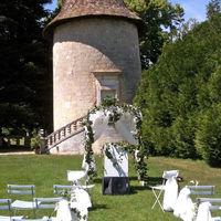 Céremonie extérieur Chateau de Maumont