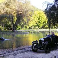 Le moulin de surier, le lac