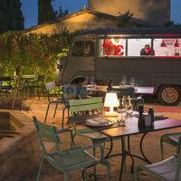 """Restaurant estival """"Le Camion Bleu"""""""