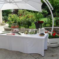 Réception de mariage au Cercle Colbert - Vin d'honneur sur la terrasse