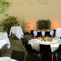 Cour intérieure dîner