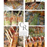 Cocktails sous forme de verrines