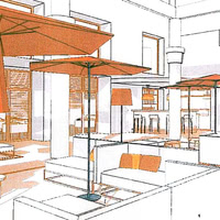 Bar et nouvelles terrases