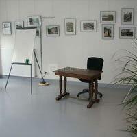 Salle organisée en exposition