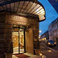 Entrée hotel bristol mulhouse