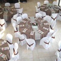 Mariage fushia chocolat