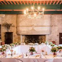 Merveilleux banquet de mariage au Chateau de Goudourville