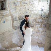 Mariés dans l'escalier Renaissance