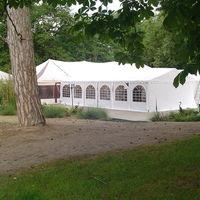 Tente + agrandissement 380 m2